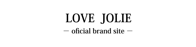 LOVE JOLIE brand site